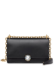 Miu Miu Solitaire Black Shoulder Bag