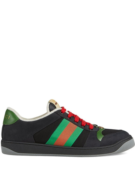 Gucci Screener Black Sneakers
