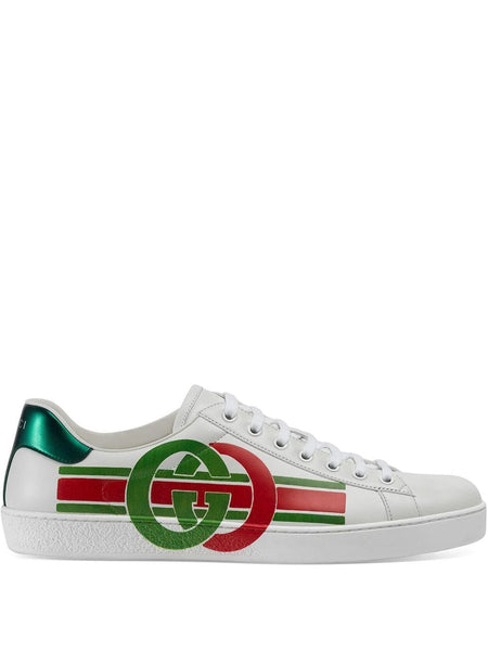 GG Print Ace Sneakers