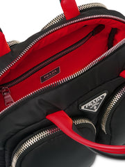 Prada Padded Nylon Top Handle Bag