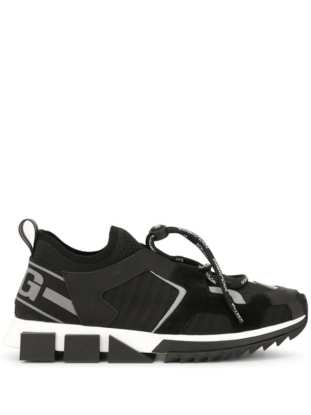 Dolce & Gabbana Sorrento Black Sneakers