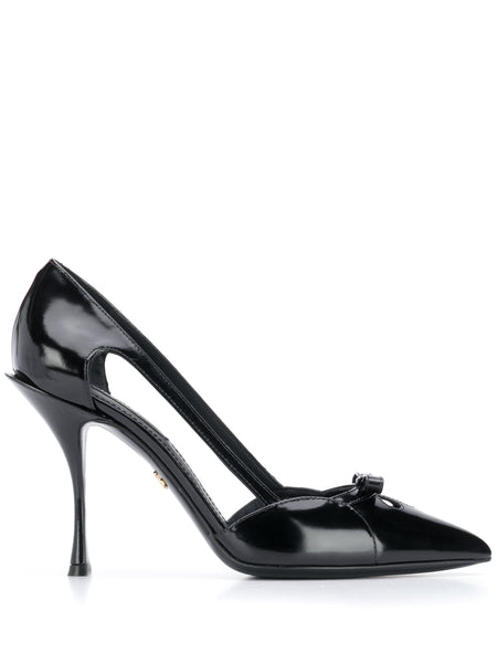 Dolce & Gabbana Patent Bow Pumps