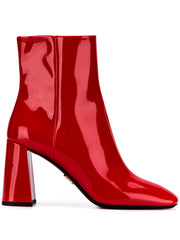 Prada Red Patent Leather Boots