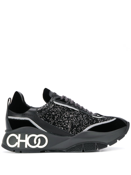 Jimmy Choo Raine Glitter Sneakers