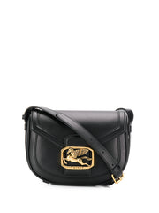 Etro Pegaso Black Shoulder Bag