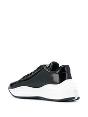 Prada Brushed Leather Sneakers