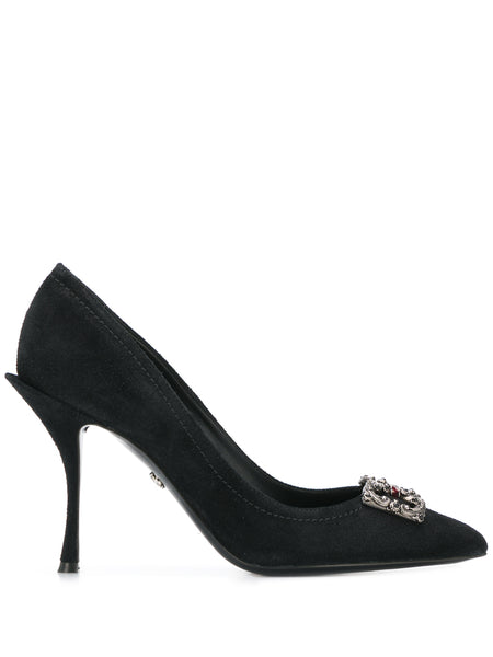 Dolce & Gabbana Black Lori High Heel Pumps