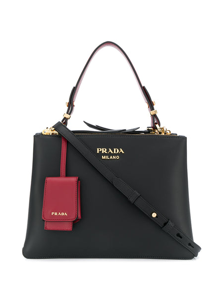 Prada Deux Small Tote Bag
