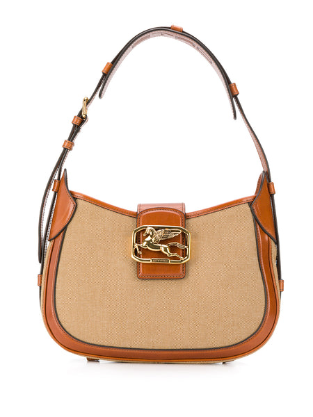 Pegasus Buckle Shoulder Bag