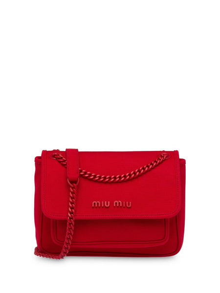 Miu Miu Hemp Shoulder Bag