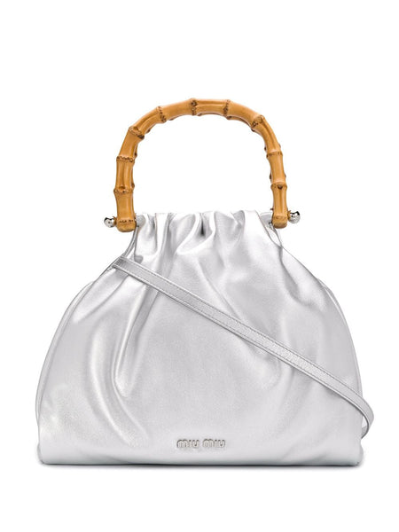 Miu Miu Bamboo Top Handle Bag