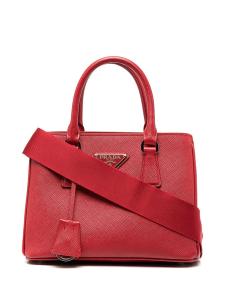 Prada Mini Galleria Red Tote
