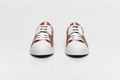Satin Low Top Sneakers