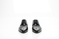 Classic Black Leather Oxford Shoes