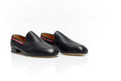 Black Leather Vicente L'Aveugle Loafers