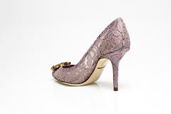 Bellucci Pump in Blush Taormina Lace