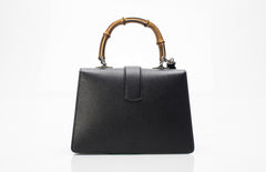 Dionysus Top Handle Bamboo Leather Bag