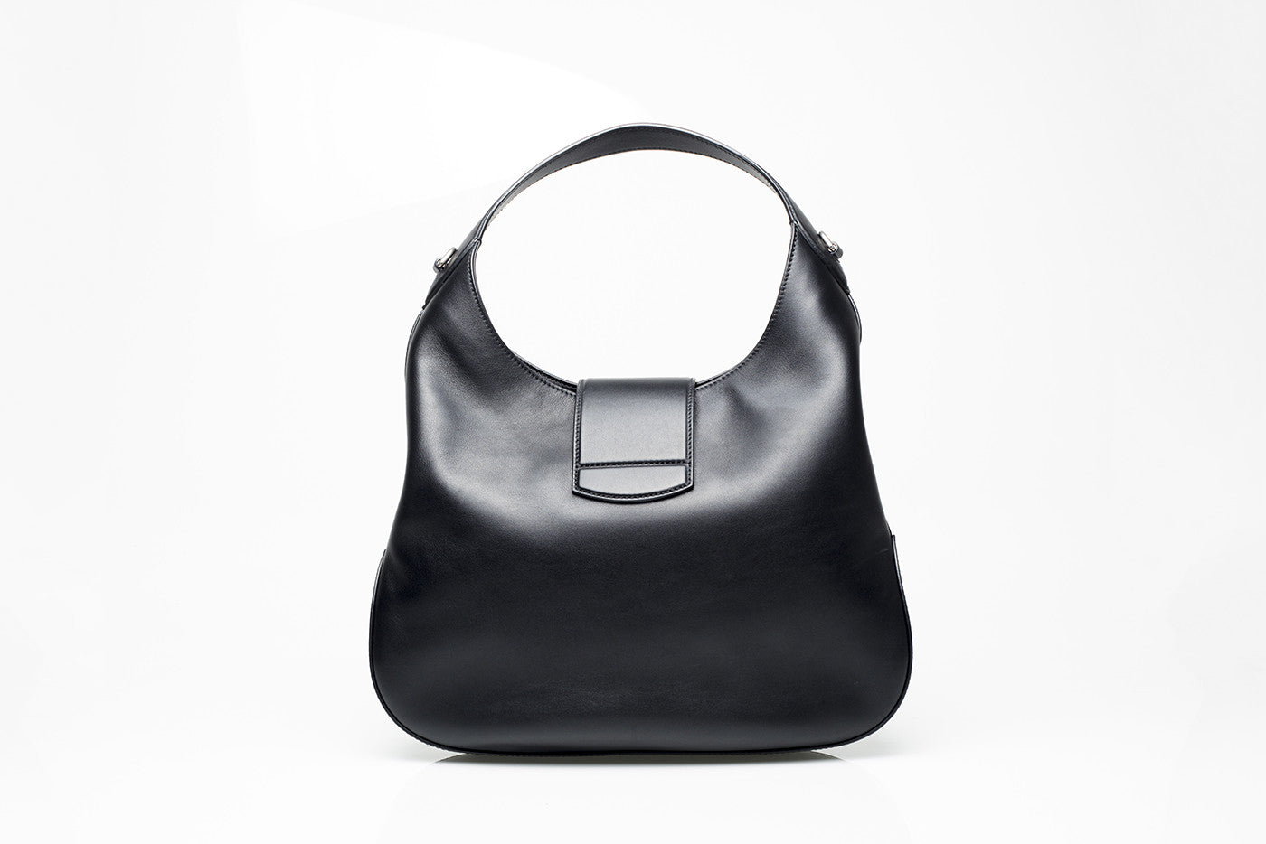 539a0ec9f753 GG Supreme Black Leather Hobo GG Supreme Black Leather Hobo ...