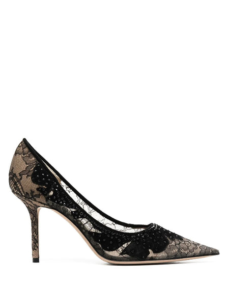 Jimmy Choo Lace Pumps
