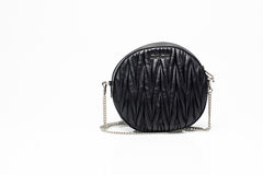 Moon Matelasse Chain Shoulder Bag