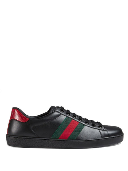 Gucci Classic Black Ace Sneakers