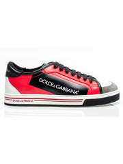 Roma Black and Red Sneakers