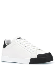 Dolce & Gabbana Low Top White Sneakers