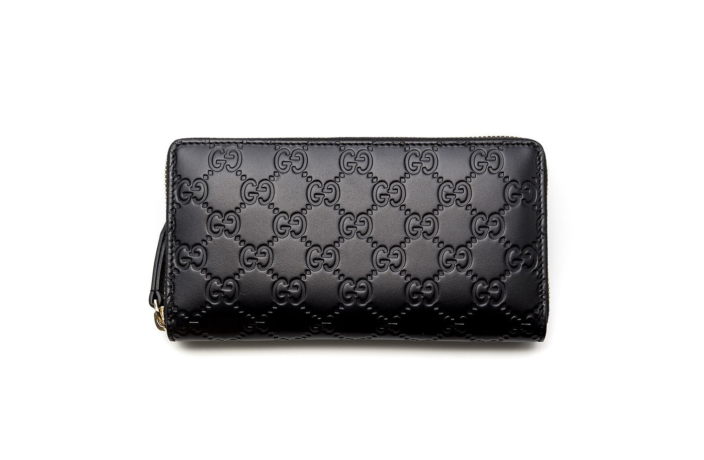 56a4898ae17 Gucci Signature Zip-Around Wallet – KultBoutique