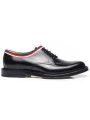 Leather Grosgrain Shoes