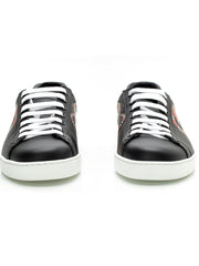 Ace Kingsnake Black Print Sneakers