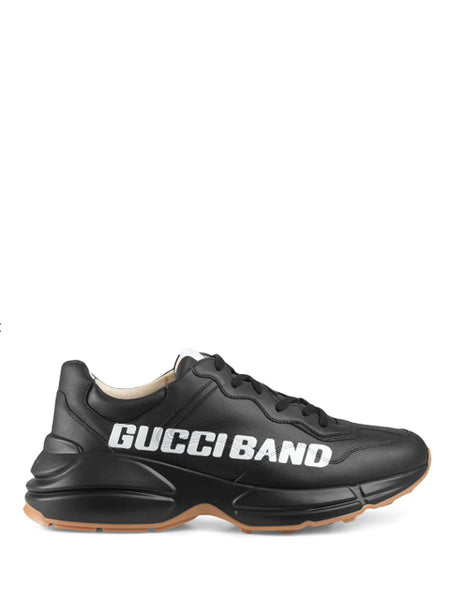 Gucci Rhyton Black Sneakers