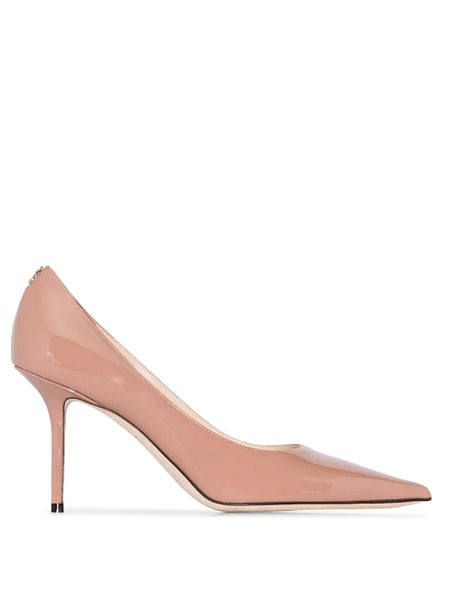 Jimmy Choo Love 85 Nude Patent