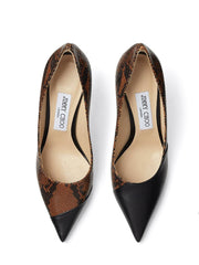 Jimmy Choo Love Asymmetric Design Pumps