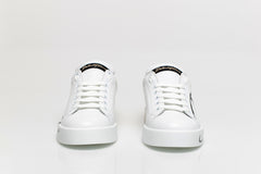 Patent Two Tone Leather Sneakers