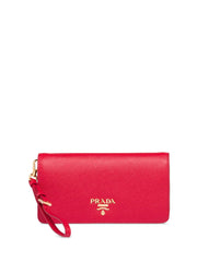 Prada Mini Red Leather Shoulder Bag