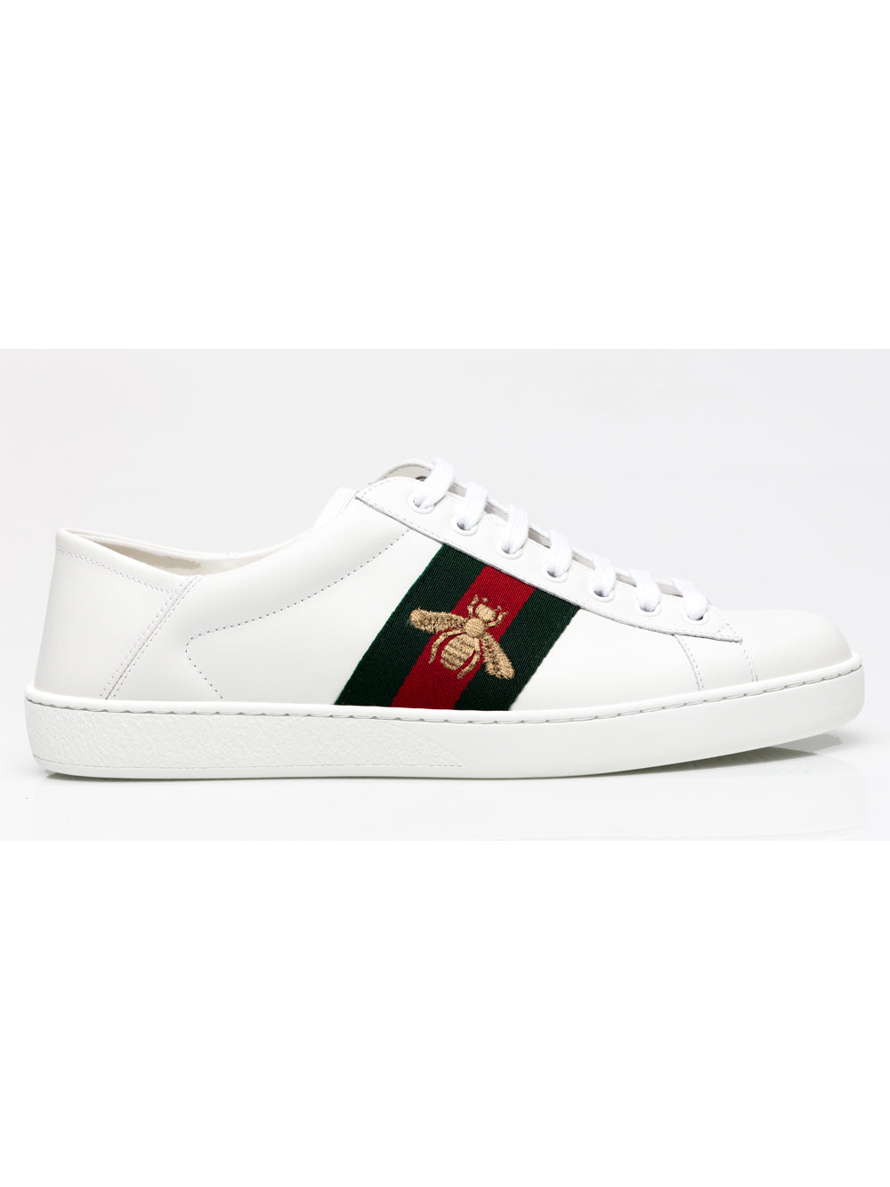 b4d9c6fa36bba Gucci Womens Ace Embroidered Bee Sneakers