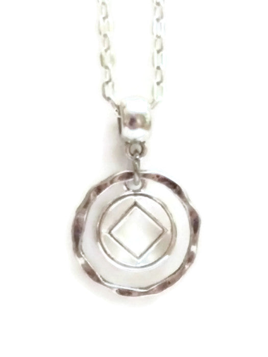 Simply Elegant Charm Necklace Narcotics Anonymous