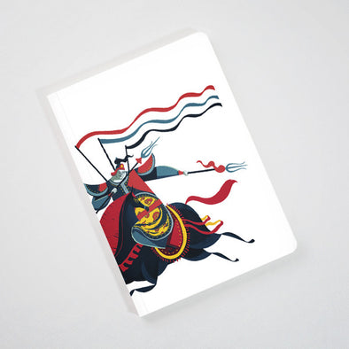 """Annam General"" Perfect Binding Notebook by KAA illustration"