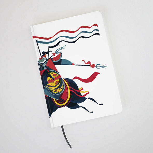 """Annam General"" Hardcover Notebook by KAA illustration"