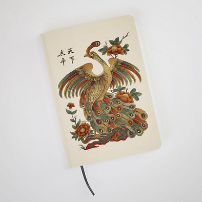 """Thien Ha Thai Binh"" Hardcover Notebook by Xuan Lam"