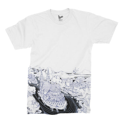 Saigon River Unisex Tee by Sithzam