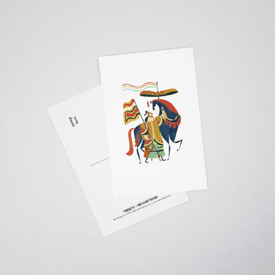 """Annamite"" Postcards by KAA illustration"