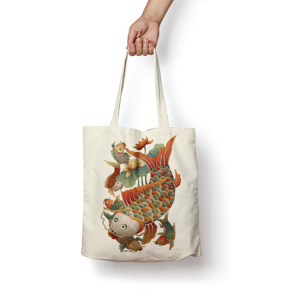 """Ca Dan"" Tote Bag by Xuan Lam"