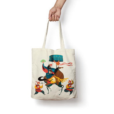 """Annam Mandarin"" Tote Bag by KAA illustration"