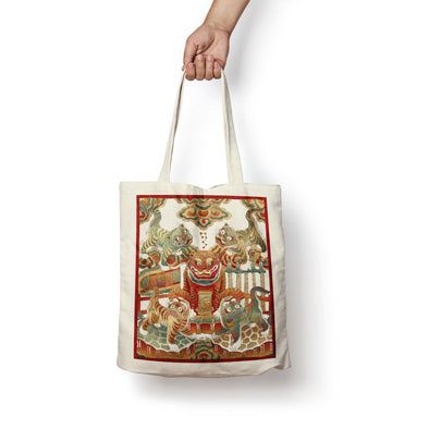 """Ngu Ho"" Tote Bag by Xuan Lam"