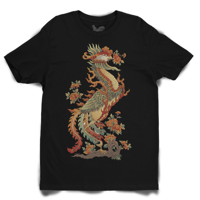 """Chim Hac"" Unisex Tee by Xuan Lam"