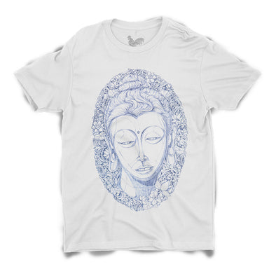 Head of Buddha Unisex Tee by Sithzam