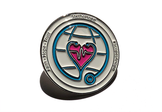 Scopes For Hope Lapel Pin