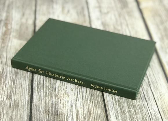 Ayme for Finsbury Archers - Reprint