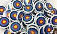 Archery badges and patches